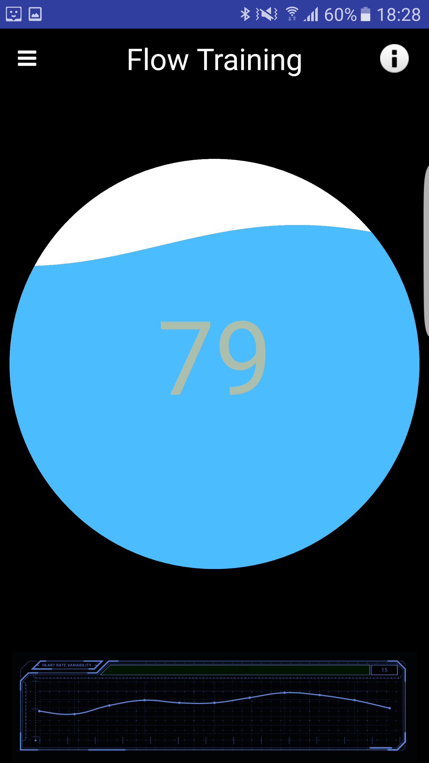 Biofeedback na Androida - Trening Oddechowy Wersja 2