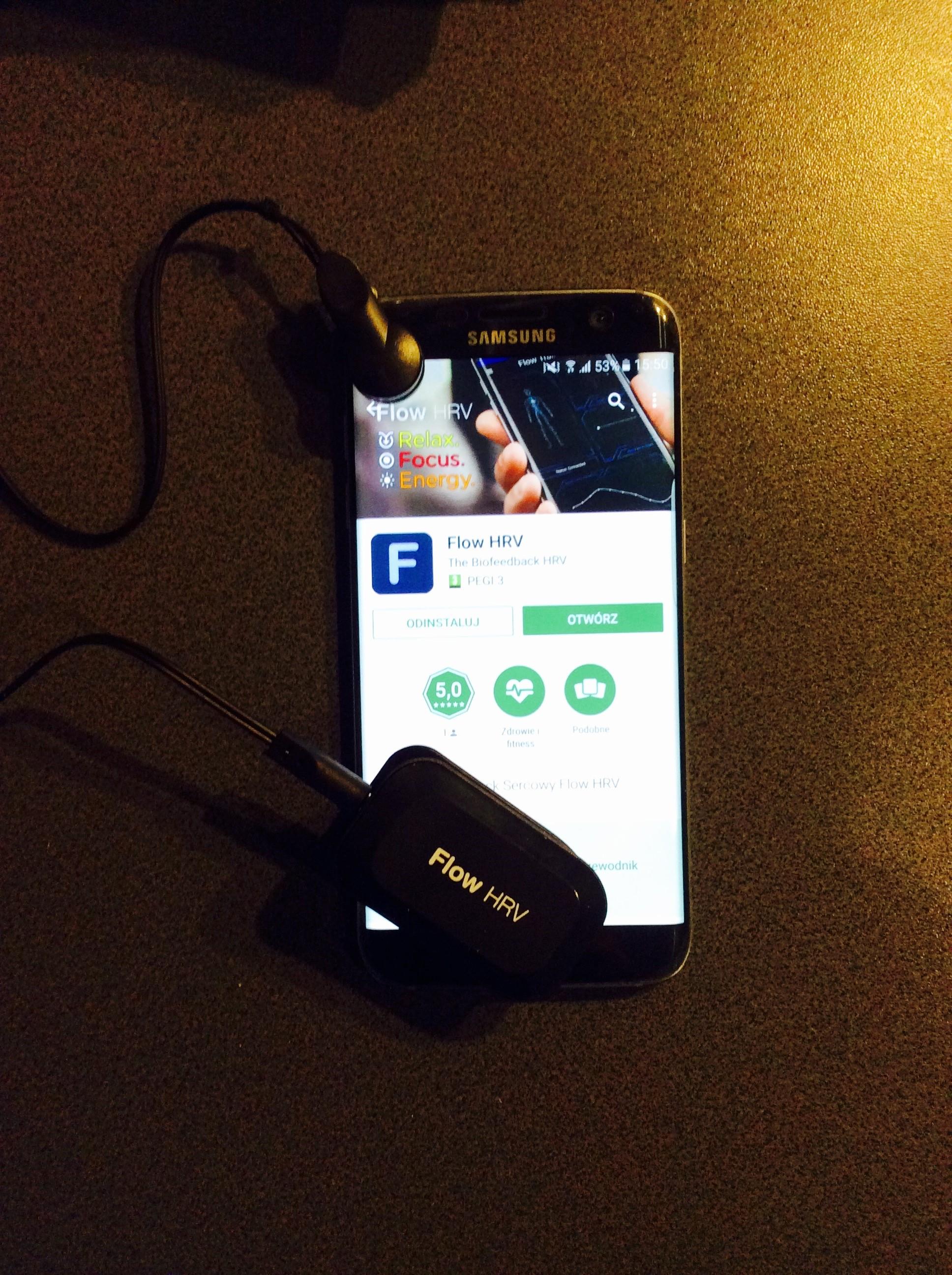 Instalacja biofeedbacku na telefonie Samsung z Androidem