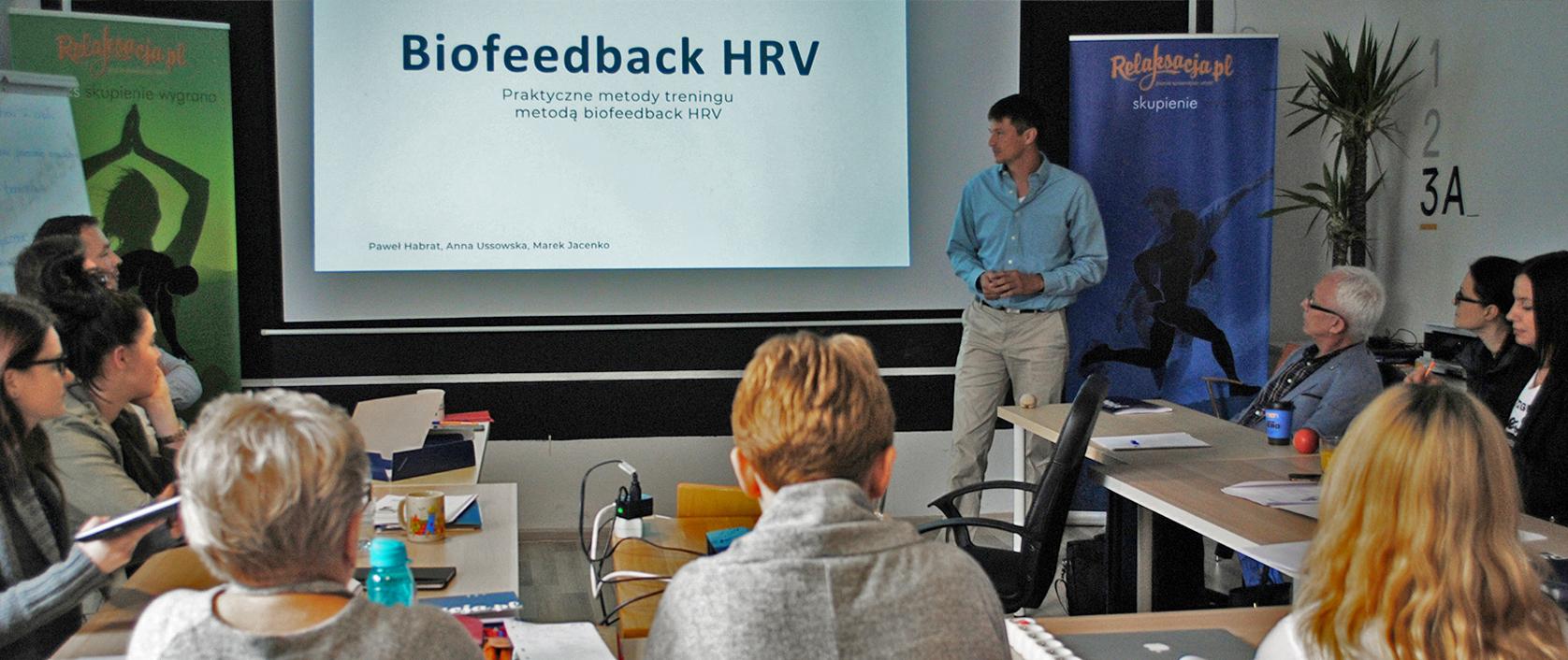 Marek Jacenko: Szkolenie biofeedback HRV